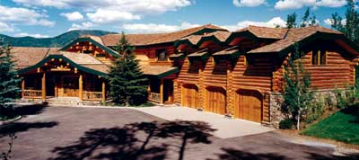 MOUNTAIN MAGNIFICENCE by Alpine Log Homes