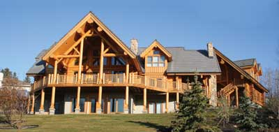 SCHLENTHER by Moose Mountain Log Homes