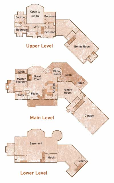 KNUDSTRUP by Town & Country Cedar Homes Floorplans