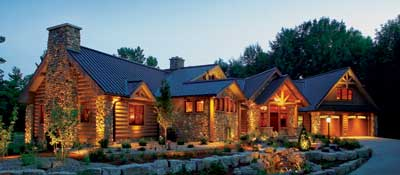 BOULDER RIDGE by Wisconsin Log Homes