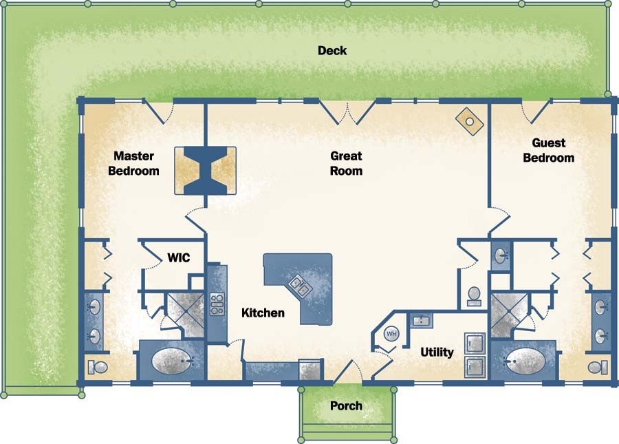 1800 Sq Ft Floor Plan And Elevations besides 4 Bedroom House Plans together with 1500 Sq Foot Floor Plans also 2 bedroom small house plans 3d in addition 800 Sq Ft Apartment Floor Plans Apartments Under. on 4 bedroom floor plans under 1500 sq ft
