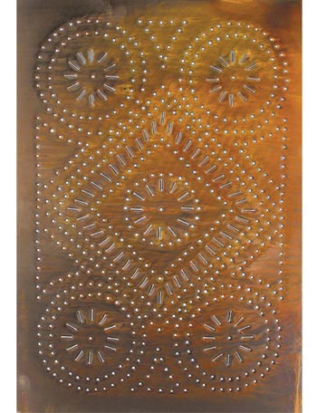 Ordinaire Punched Tin Cabinet Panel