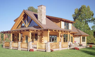 The Bond | Real Log Homes
