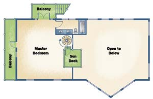 Streamline Design Home Plan