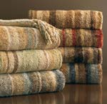 Striped Chenille Throw