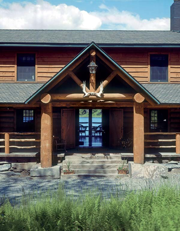 Lodge Home, Estemerwalt Log Homes