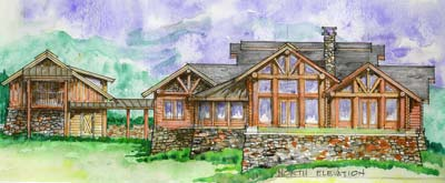 Hamatreya | Tennessee Log Homes