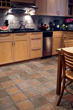 Tile Floor | Domco Floors Photo