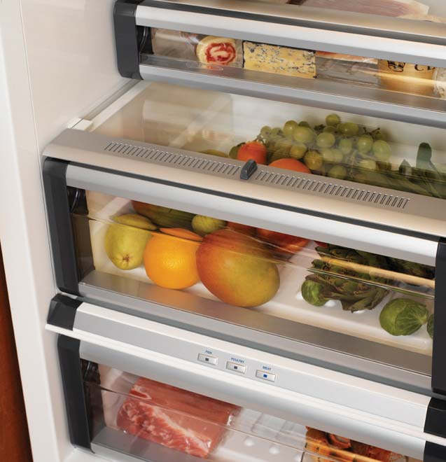 Transparent Refrigerator Doors