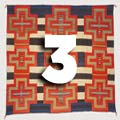Navajo weaving and rug quiz, question 3 by Log Home Design
