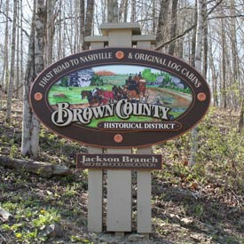 Welcome to Brown County, Indiana | Sign