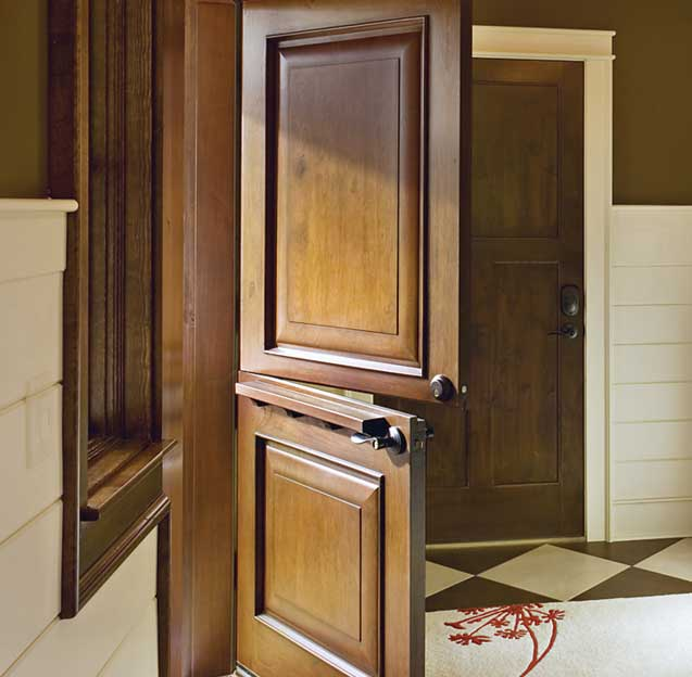 dutch door with shelf 2