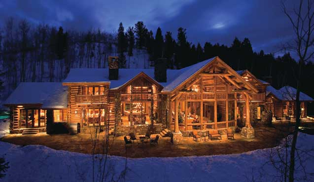 Custom Log Homes Group Picture Image By Tag