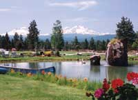 Oregon Custom Home Pond