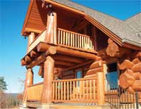 Log Homes Canada Dreams Exterior