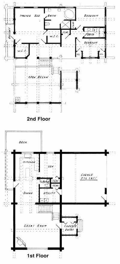 Ornstein Floorplans