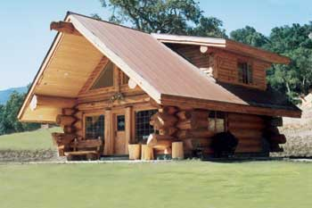 Pioneer Log Homes Of British Columbia Ltd Show Home