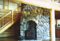 The Cabin Fireplace