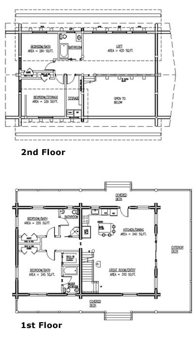 Together We Stand - Floorplans