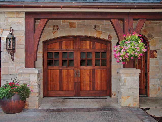 Carraige House style garage door