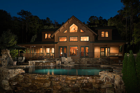southern log homes