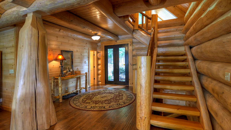 The Integrity, By Log Homes Canada, Lives Up To Its Name. Built With  Western Red Cedar Logs Averaging A Hefty 14 Inches In Diameter, The House  Is As True To ...
