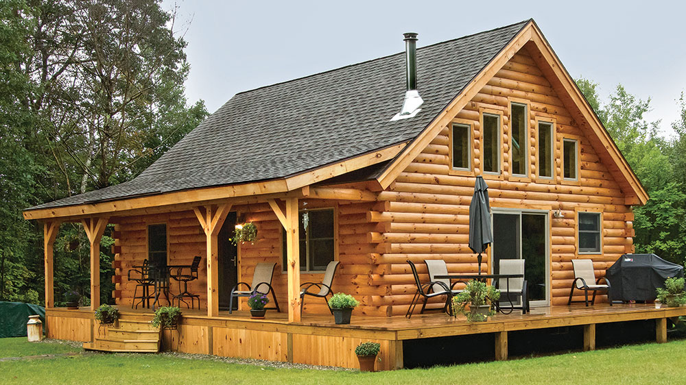Coventry Log Home Giveaway, want to win a log home