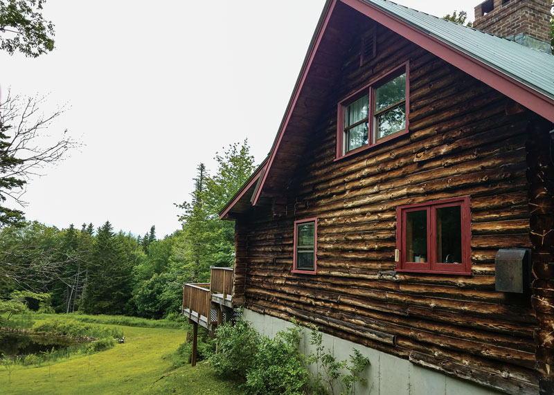 Reader Spotlight A Log Home Restoration In Vermont