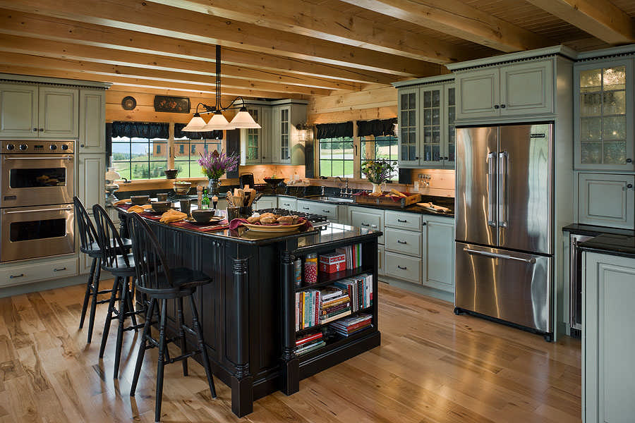Kitchen Design Tips Extraordinary Cabin Kitchen Design Creative