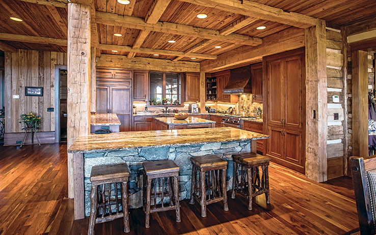 5 Open Concept Timber Frame Kitchens