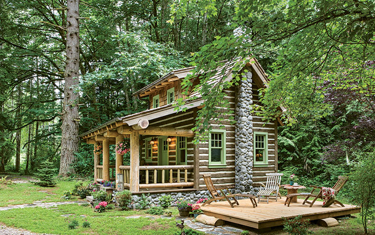 Tour The Tiny Cottage In The Woods