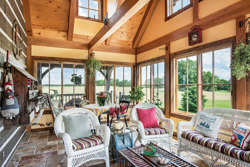 An Ohio Log Home Is a Timeless Treasure Elevated Log Home Porch Design on log home sunroom designs, log home bath designs, log home floor designs, log home pergola designs, log home bedroom designs, log home interior designs, log home dining room lighting, log home window designs, log home patio designs, log home with porches design, log home sauna designs, log home kitchen designs, log home tower designs, log home garden designs, log home entry designs, log home granite countertops, log home room designs, log home bathroom flooring, log home deck designs, log home stairway designs,