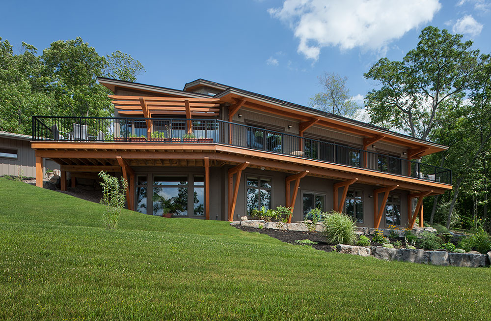 The Benefits of Passive Solar Design on Your Timber Frame