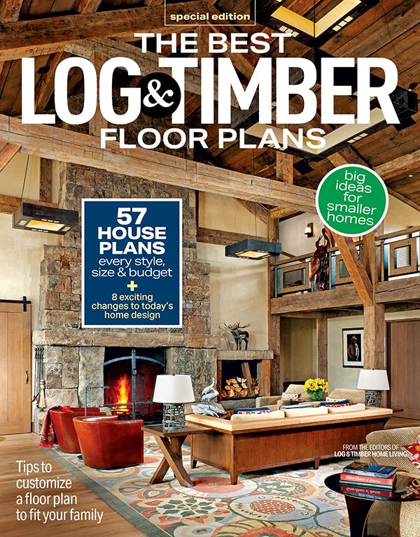 Best Log & Timber Floor Plans 2021