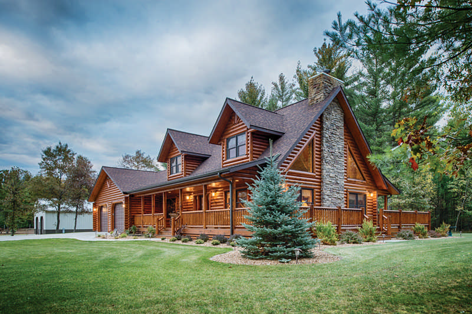log home profile styles