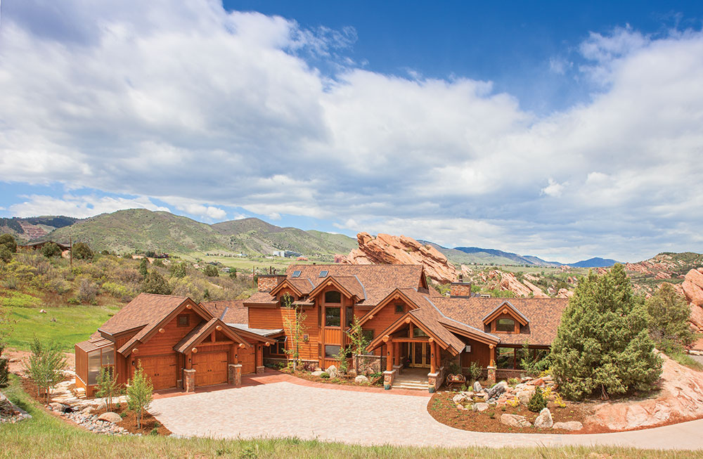 You Have to See This Amazing Central Colorado Log Home
