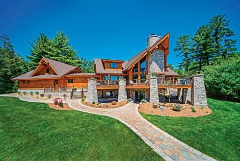 hybrid log homes