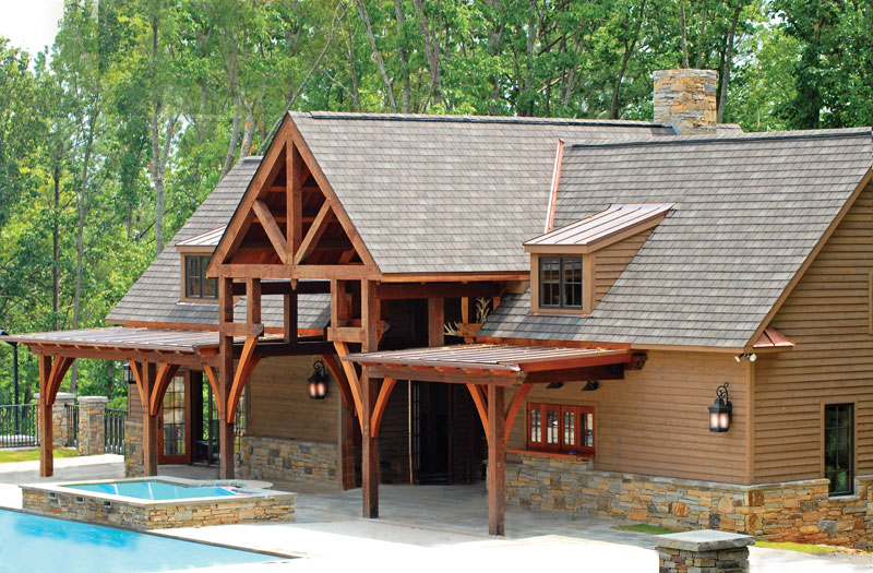 Amazon Timber Frames Alabama Home