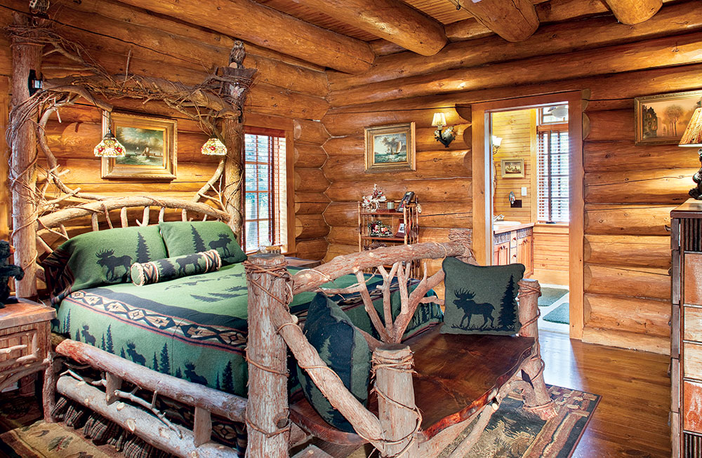The Adirondack-Style Log Cabin with Rustic Refinement