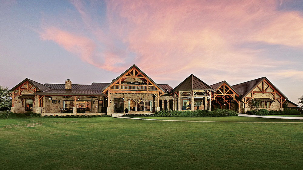 The Impressive Texas Timber Frame