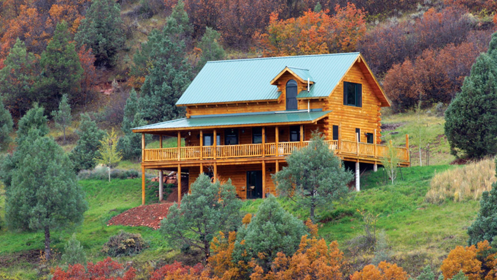 Is a One-Level Log Home Cheaper Than 2 Stories?