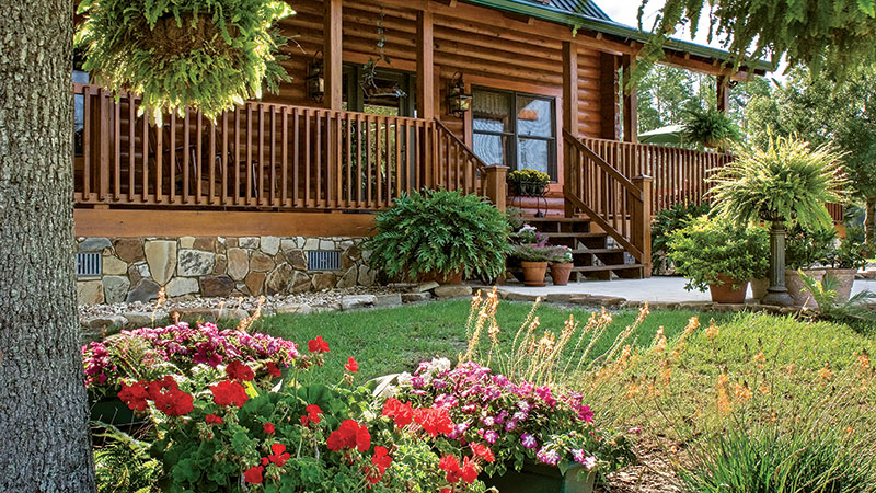 How to Add Groundcover to Your Log Home Yard