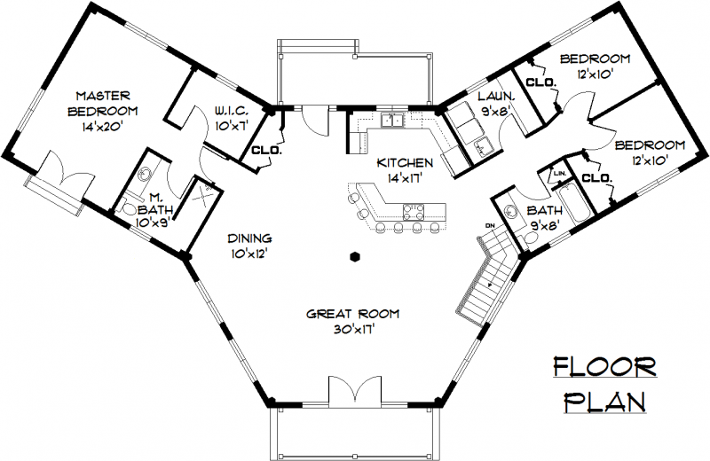 Sunrise 2000 Floor Plan By Hampshire Timber Frame