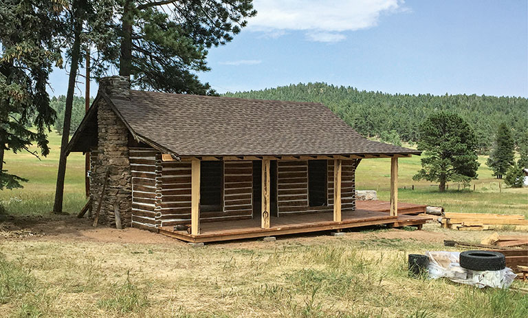 Log Cabin Plans With Wrap Around Porch