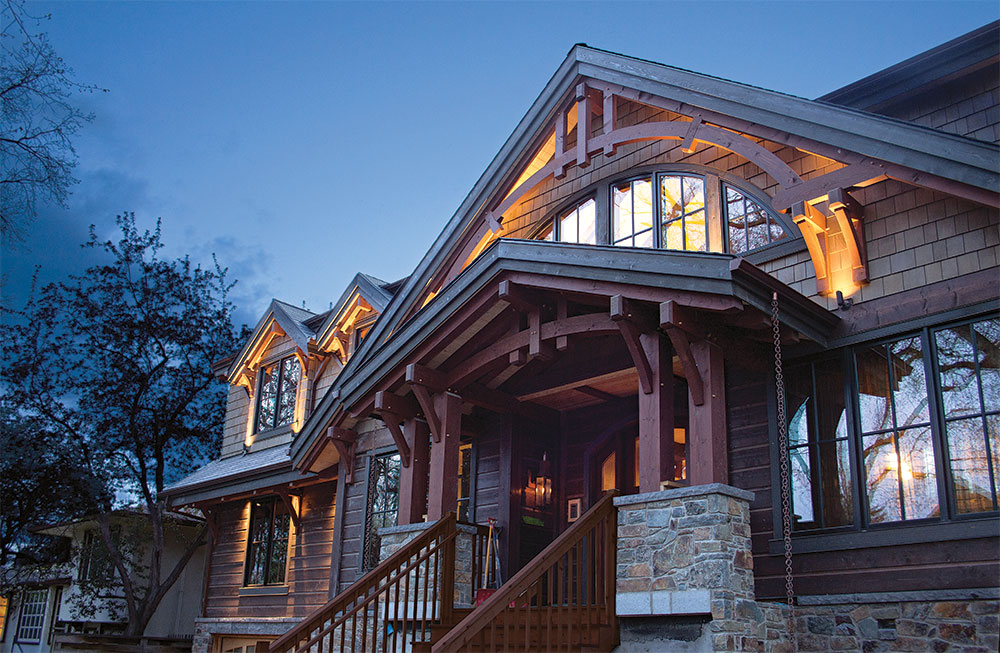 Tour A Rustic Chic Canadian Timber Frame