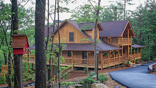 Is a Maintenance-Free Log Home Possible?