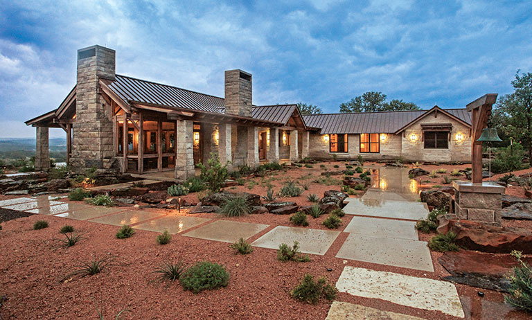 A Timber Home in Texas Hill Country