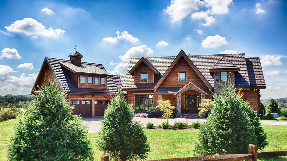 You'll Fall in Love With This Pennsylvania Log Home