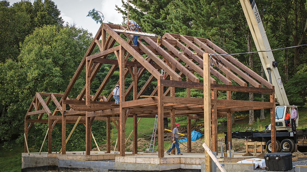 4 Unique Timber-Frame Traditions