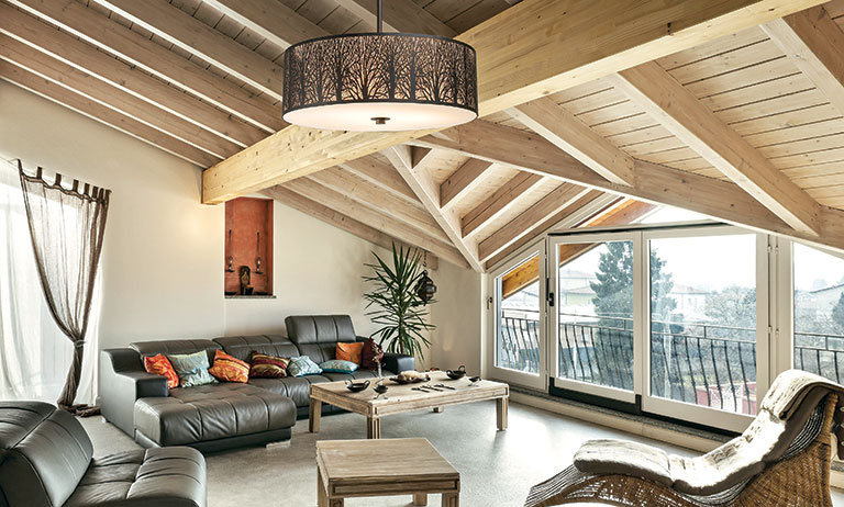 6 Stylish Lights For the Log Home